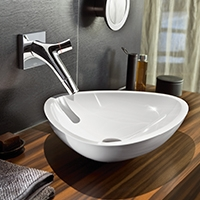 Vasques de lavabo fonte minérale