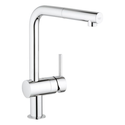 Grohe Minta kitchen mixer 32168000 with pull out spray, chrome