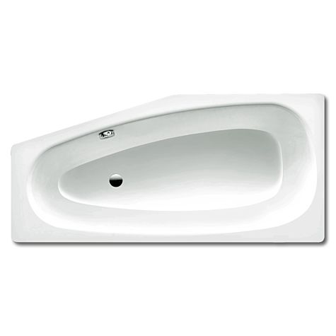 Kaldewei bathtube MINI right 834, 1570x700x430 alpine white 224400010001