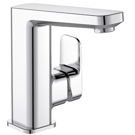 Mitigeur lavabo Ideal Standard Tonic II A6332AA chromé, bec haut, avec garniture d'écoulement