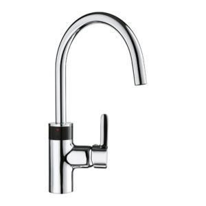 Kludi E-GO sink mixer 422100575 chrome, electronic controlled, battery 6 V