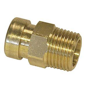 SF Übergangsnippel VSH Tectite TT243 G 22mmxR 3/4, Messing, unlösbar