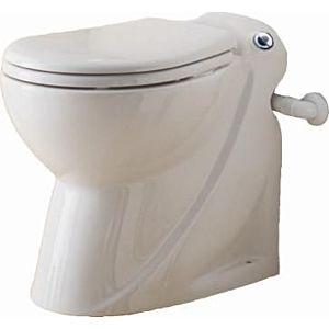 SFA Céramique de salle de bain -Stand- WC SaniCompakt Pro blanc, Pro connexion pour WT