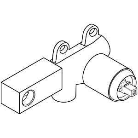 Herzbach Logic Einbaukörper 11730000109  für Waschtisch Wandarmatur, Unterputz
