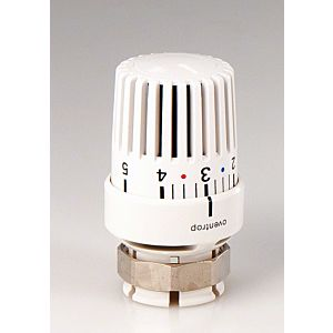 Oventrop thermostatic head Uni LV 1616001 white, for Vaillant thermostatic valves