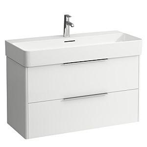 Laufen Base für VAL Waschtischunterschrank  H4024121102601, 93x53x39cm, 2 Auszüge, weiß matt