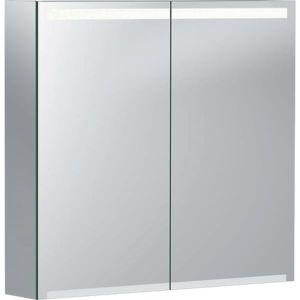 Geberit Option Spiegelschrank 500205001 750x700x150mm, mit Beleuchtung, zwei Türen