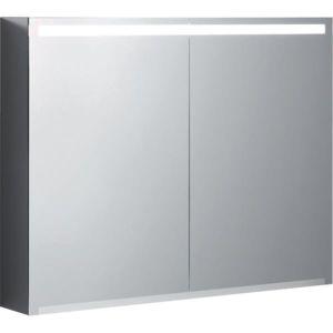 Geberit Option Spiegelschrank 500583001 900x700x150mm, mit Beleuchtung, zwei Türen