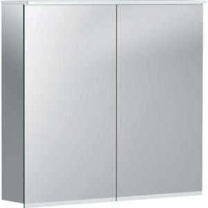 Geberit Option Plus Spiegelschrank 500206001 750x700x172mm, mit Beleuchtung, zwei Türen