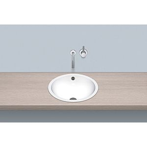 Alape built-in basin K450 2002000000 Ø 45 cm, white, with overflow, without tap hole