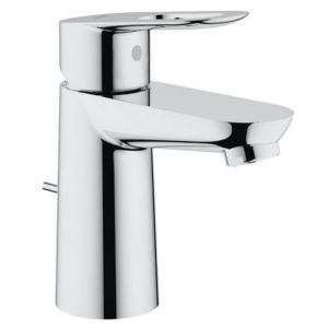 Grohe BauLoop basin mixer 23335000 chrome, S-Size, with drain set