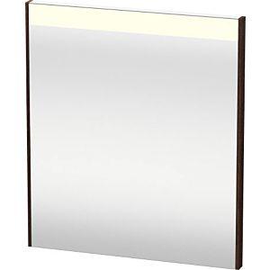 Duravit Brioso Lichtspiegel BR700105353 620x700mm Kastanie Dunkel, mit Spiegelheizung