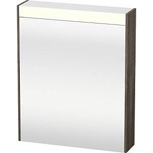 Duravit Brioso LED-Spiegelschrank BR7101R5151 620x760mm, Pine Terra, Tür rechts