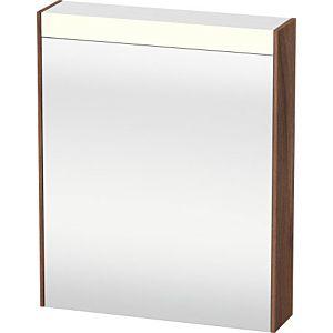 Duravit Brioso LED-Spiegelschrank BR7101R7979 620x760mm, Nussbaum Natur, Tür rechts