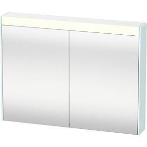 Duravit Brioso LED-Spiegelschrank BR710200909 820x760mm, Lichtblau Matt, 2 Türen