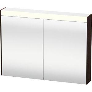 Duravit Brioso LED-Spiegelschrank BR710205353 820x760mm, Kastanie Dunkel, 2 Türen