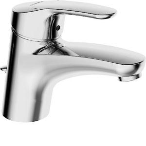 Hansa Hansamix Waschtischarmatur 01092283 Ablaufgarnitur, flexible Druckschläuche, chrom