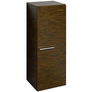 Keramag Silk Seitenschrank 816051000 40x103,5x35cm, Wenge Pangar, 1 Tür