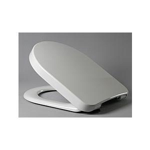 Haro WC-Sitz Calla Premium 523381 weiss, Edelstahl Scharniere, Softclose