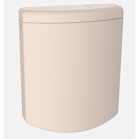 Sanit Spülkasten Bonito Duo 91A04040099  bahamabeige, mit Eckventil, 6 - 9 Liter