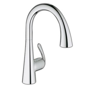 Grohe Zedra kitchen tap 32294001 with pull-out dual spray