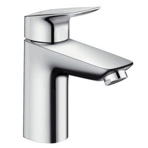 hansgrohe Logis 100 Mitigeur lavabo 71107000  Push Open bonde, chromé