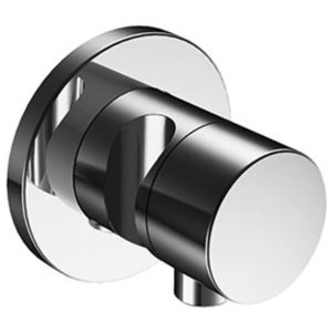 Keuco IXMO 2-way stop & diverter valve 59557010201 concealed, chrome-plated, round