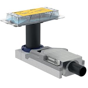 Geberit CleanLine Duschrinne Rohbauset 154152001 40 mm, Aufbauhöhe ab 65 mm