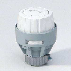 Danfoss thermostat head RA 2000 013G2920 built-in sensor, white, traditional model