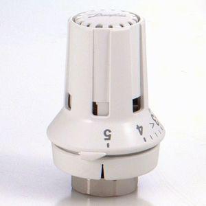 Danfoss thermostat head RAW-K 5030, 013G5030 built-in sensor, white