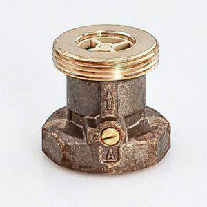 """Oventrop Sperrventil Typ SVE 1070010 DN32, G 2""""AG, G 2""""IG, PN10, Messing"""