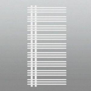 Zehnder Yucca radiateur design ZLZY300358B1000 YA-130-060, 1304/578 mm, asymétrique, blanc
