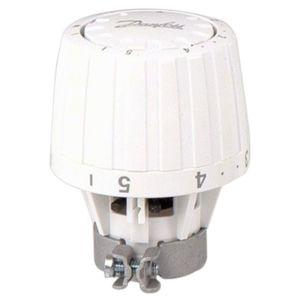 Danfoss tête thermostatique RA/VL 013G2950 pour  boîtier RAVL 26 mm, blanc, bulbe incorporé
