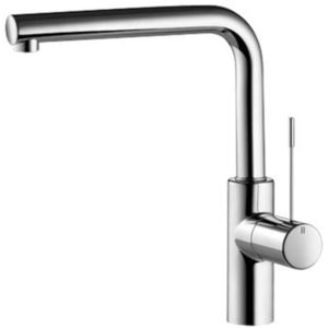 KWC Ono Küchenarmatur 10151013000FL, A 225 schwenkbar 360 Grad, chrom