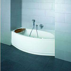 Badewanne BetteCora Ronda Eckeinbau 8500000CERH 160 x 90 cm, Comfort, weiss, Duschbereich rechts skybadobadis-147-3