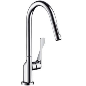 hansgrohe Citterio Axor ktichen mixer 39835000 pull-out spray, swivelling, chrome