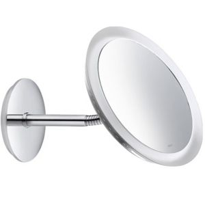 Keuco Kosmetikspiegel Bella Vista 17605019000 Wandmodell, beleuchtet,m. Netzanschluss, verchromt