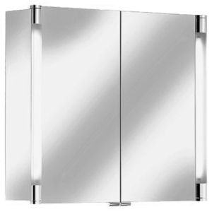 Keuco Royal T2 Mirror cabinet Royal T 2 13802171301 silver anodized without drawers