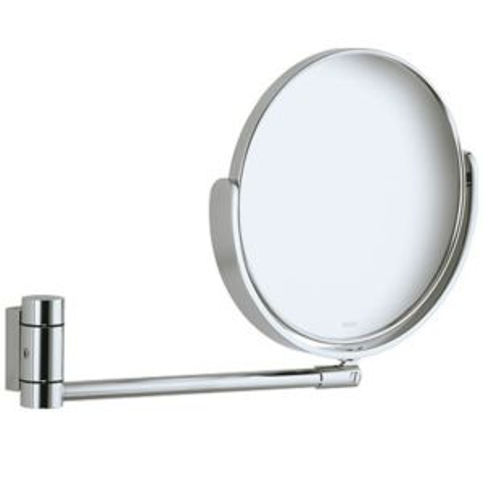 Keuco Miroirs grossissants Miroir grossissant Plan 17649010000 non éclairant chromé