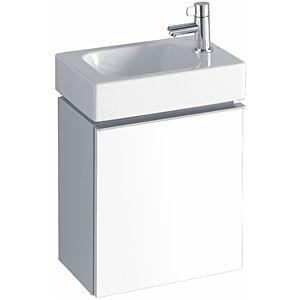Keramag iCon xs Waschbeckenunterschrank 840037000 37x41,2x26,1cm, Alpin hochglanz, Anschlag rechts