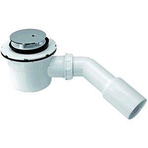 ASW Ablaufgarnitur für Brausewannen 101266 für 52mm Ablaufloch, inkl. Abdeckung chrom