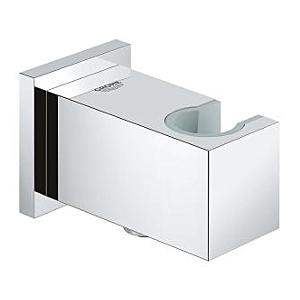 Grohe Euphoria Cube Wandanschlussbogen 26370000 chrom, Brausehalter, eigensicher gegen Rückfließen
