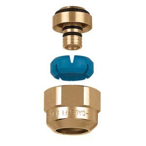 """Caleffi raccord à compression DARCAL 680535 3/4 """"Euro cone sur 12,5-13 mm intérieur / 16-18 mm extérieur"""