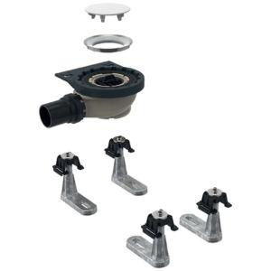Geberit Setaplano Rohbau-Set 154010001 zu Setaplano Duschfläche, 4 Füße, 50mm