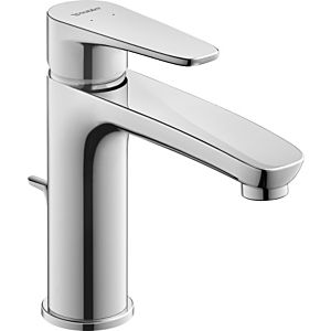 Duravit B.1 Basin mixer M B11020001010 chrome, with pop-up waste set