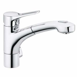 Kludi MX sink mixer 399450562  chrome, with device connection, extractable shower