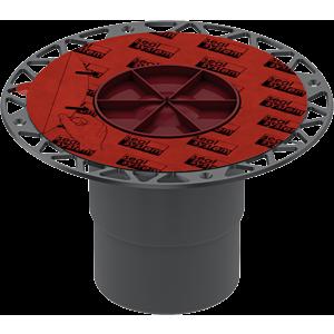 TECEdrainpoint S Ablauf DN100 senkrecht 3607600 mit Seal System Universalflansch
