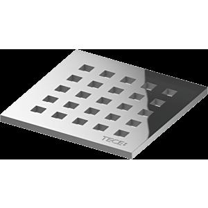 TECEdrainpoint S Designrost 3665006 100x100mm, Edelstahl, quadratum