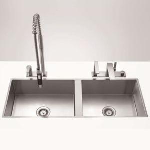 Dornbracht Water Units Doppelspülbecken 3854100086 1110x405mm, Beckentiefe 200/200mm, ED