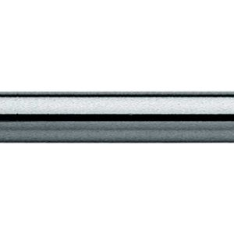 Kupferrohr 12x500mm, 455006 beidseits ohne Bördel, verchromt